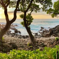 Mauna Kea Luau Sunset