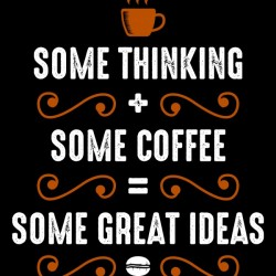 Coffee and Thinking Combination