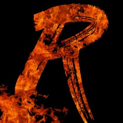 Burning on Fire Letter R