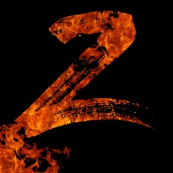Burning on Fire Letter Z
