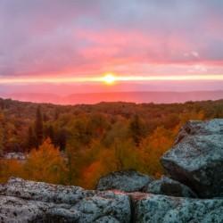 Bear Rocks at Sunrise apmi 1754
