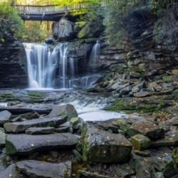 Elakala Falls and Bridge apmi 1775