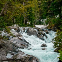 Wild Water in the Mountains