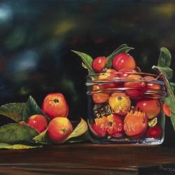 Apples in Jar 28x22