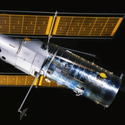 NASA Hubble Space Telescope Side - Outer Space Image
