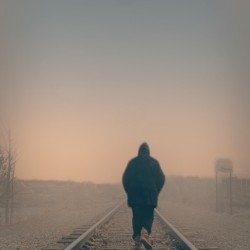 Back Walking Away