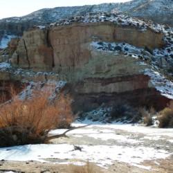 Snow Desert Wash