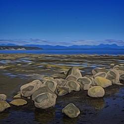 Boulders at Low Tide