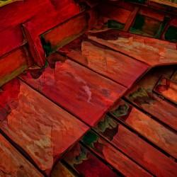 Rowboat Abstract