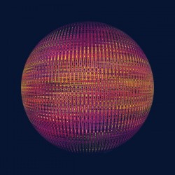 ORB red with dark blue background