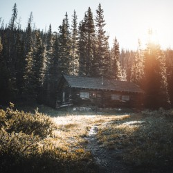 Rocky Mountain Cabin