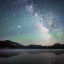 Stockade Lake and The Milky Way