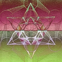 Cube of Metatron Red Green