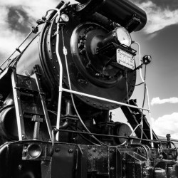 Canadian Steam Locomotive 6015 B