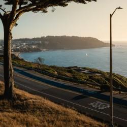 Sunset On San Francisco Coast