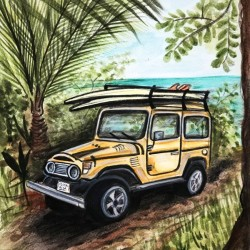 Collection COSTA RICA-Jeep