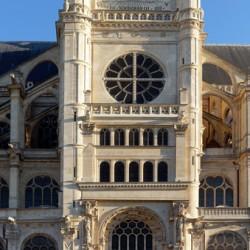 Saint-Eustache facade