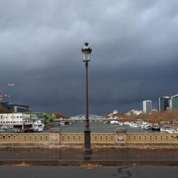 lamp post of the Tobiac bridge