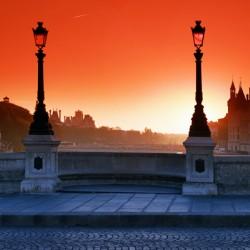 Pont Neuf bridge sunrise