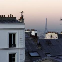 Butte Montmartre sunrise