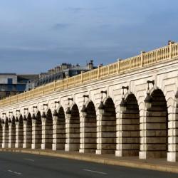 Bercy bridge archs