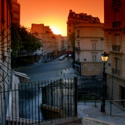 Butte Montmartre staircases