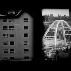 Building and Bridge