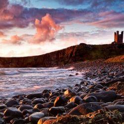 Dunstanburgh Castle, Northumberland, UK