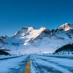 Columbia Ice Fields Canada.