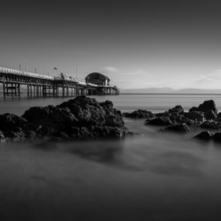 Mumbles pier and rocks
