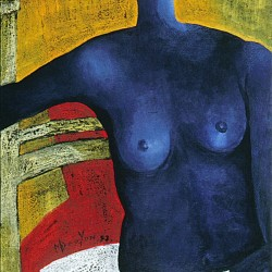Blue Nude Woman