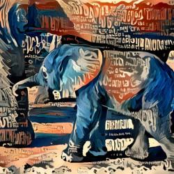 The Posterized Elephant
