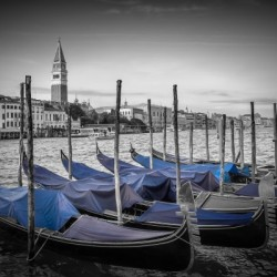 VENICE Grand Canal and St Mark's Campanile