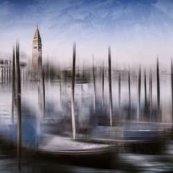 Digital-Art VENICE Grand Canal and St Mark's Campanile
