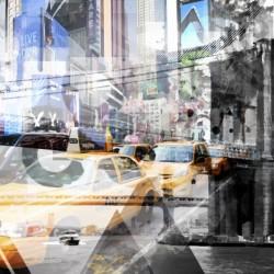 New York City Geometric Mix No. 9