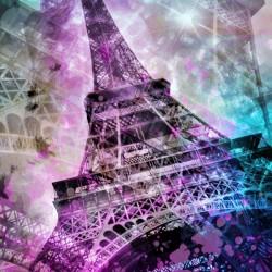 Pop Art Eiffel Tower