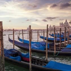 VENICE Gondolas & Santa Maria della Salute