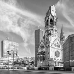 BERLIN Kaiser Wilhelm Memorial Church | Monochrome