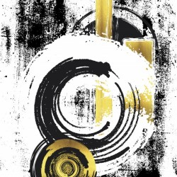 Abstract Painting No. 33 | gold