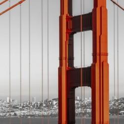 SAN FRANCISCO Golden Gate Bridge | Panorama