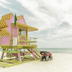 MIAMI BEACH Florida Flair | Vintage Panorama