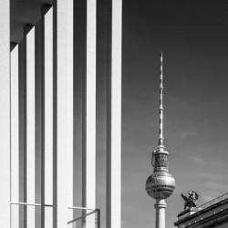 BERLIN Television Tower & Museum Island | Monochrome