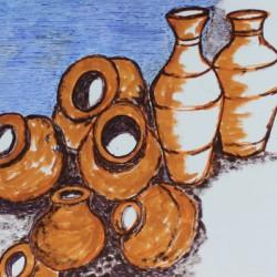 Basking pots