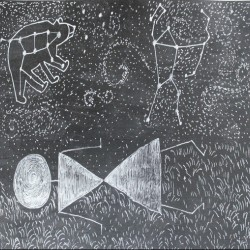 Daydreaming--Warli Tribal art