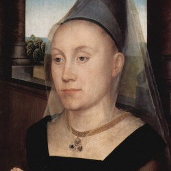 Portrait of Barbara van Vlaendenbergh, 1480