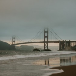 Golden Gate in the smog