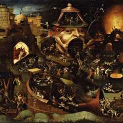 The Harrowing Of Hell Hieronymus Bosch Canvas