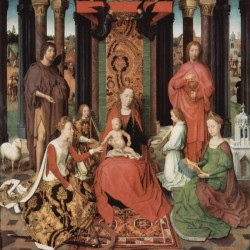 The Virgin enthroned with Child