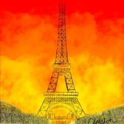 Eiffel Tower. Clayton T