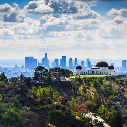 Overlooking Griffith Observatory